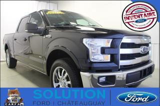 Used 2016 Ford F-150 Lariat + TOIT PANO + NAV + CHROME for sale in Châteauguay, QC