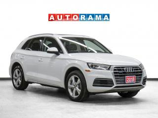 Used 2018 Audi Q5 Progressiv 4WD Nav Leather Pano-Roof Backup Cam for sale in Toronto, ON