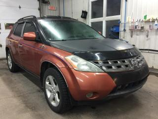 Used 2004 Nissan Murano SL AWD for sale in Boischatel, QC