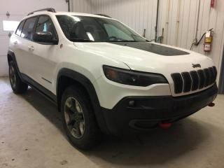 Used 2019 Jeep Cherokee Trailhawk 4X4 for sale in Boischatel, QC
