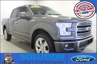 Used 2016 Ford F-150 Limited +++ LIQUIDATION +++ for sale in Châteauguay, QC