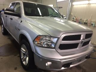 Used 2016 RAM 1500 Outdoorsman Cabine Multiplaces 4WD for sale in Boischatel, QC