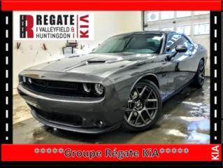 Used 2017 Dodge Challenger R/T***GPS***Cuir**Mags**Démarreur à distance*** BALANCE DE GARANTIE DU MANIFACTURIER for sale in Salaberry-de-Valleyfield, QC