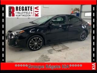 Used 2015 Toyota Corolla L Véhicule en inspection mécanique for sale in Salaberry-de-Valleyfield, QC
