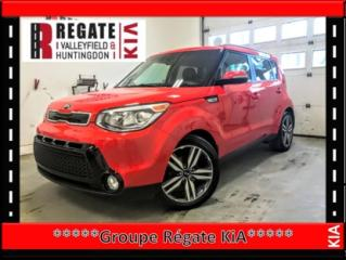 Used 2014 Kia Soul SX*Intérieur en cuir*Caméra de recul*Bluetooth** DISPONIBLE CHEZ RÉGATE KIA HUNTINGDON, 100 RUE RIDGE,450-322-2222 for sale in Salaberry-de-Valleyfield, QC