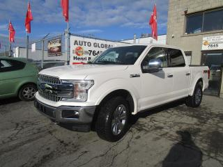 Used 2018 Ford F-150 Lariat cabine SuperCrew 4RM caisse de 6, for sale in Montréal, QC