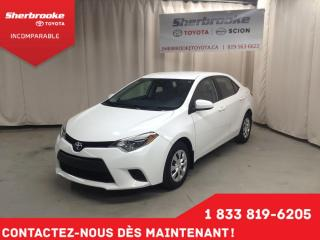 Used 2014 Toyota Corolla LE ECO for sale in Sherbrooke, QC