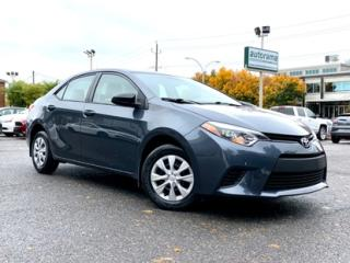 Used 2015 Toyota Corolla CE A/C for sale in Drummondville, QC