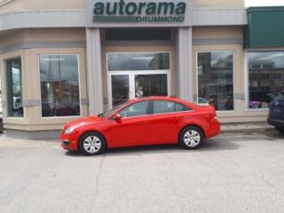 Used 2015 Chevrolet Cruze 1LT for sale in Drummondville, QC