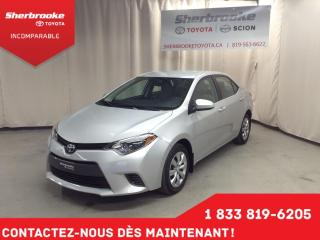 Used 2016 Toyota Corolla LE for sale in Sherbrooke, QC