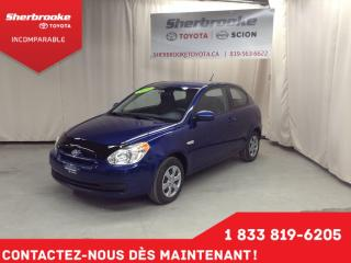 Used 2010 Hyundai Accent L for sale in Sherbrooke, QC