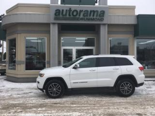 Used 2018 Jeep Grand Cherokee 4x4 Limited for sale in Drummondville, QC