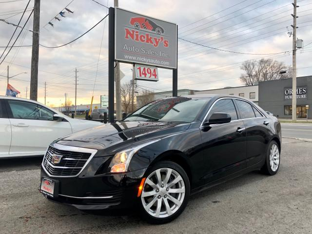 2017 Cadillac ATS AWD - 2.0T - SUNROOF - R. CAMERA - ACCIDENT FREE!