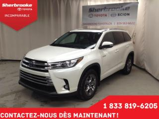 Used 2019 Toyota Highlander Hybrid Limited for sale in Sherbrooke, QC