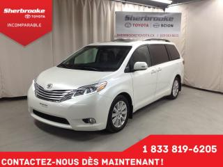 Used 2017 Toyota Sienna XLE Limited for sale in Sherbrooke, QC