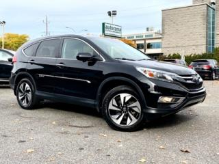 Used 2016 Honda CR-V AWD Touring for sale in Drummondville, QC