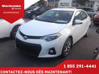Used 2014 Toyota Corolla S for sale in Sherbrooke, QC