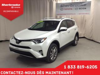 Used 2016 Toyota RAV4 LIMITED  for sale in Sherbrooke, QC