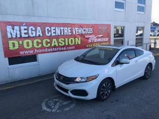 Used 2015 Honda Civic EX Coupe AUTO for sale in Laval, QC