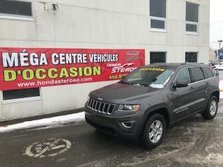Used 2015 Jeep Grand Cherokee LAREDO 4x4 for sale in Laval, QC
