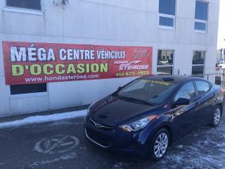 Used 2012 Hyundai Elantra GL Automatique for sale in Laval, QC