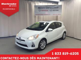 Used 2014 Toyota Prius c Technology for sale in Sherbrooke, QC