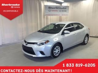 Used 2015 Toyota Corolla CE for sale in Sherbrooke, QC