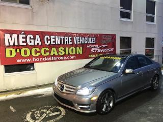 Used 2012 Mercedes-Benz C-Class C300 4MATIC GPS for sale in Laval, QC