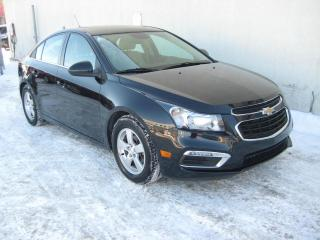 Used 2015 Chevrolet Cruze Lt Turbo Cuir Mags Toit ouvrant for sale in Montréal, QC