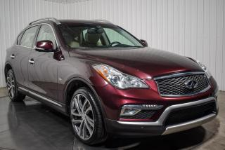 Used 2017 Infiniti QX50 PREMIUM AWD CUIR TOIT MAGS 19P NAV for sale in St-Hubert, QC