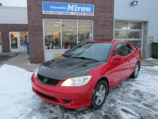 Used 2004 Honda Civic 2dr Cpe Manual for sale in St-Eustache, QC