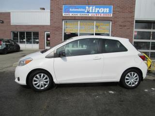 Used 2012 Toyota Yaris 3dr HB CE for sale in St-Eustache, QC