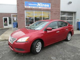 Used 2013 Nissan Sentra 4DR SDN for sale in St-Eustache, QC