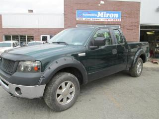 Used 2007 Ford F-150 4WD SUPERCAB for sale in St-Eustache, QC