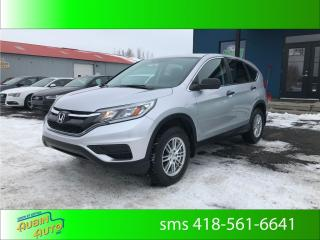 Used 2016 Honda CR-V Lx, financement sur lace for sale in St-Agapit, QC