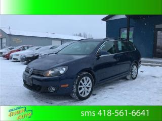 Used 2013 Volkswagen Golf Wagon Comfortline for sale in St-Agapit, QC
