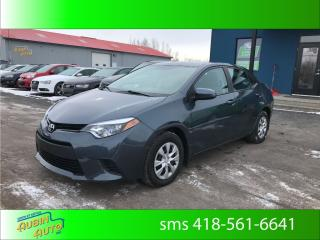 Used 2016 Toyota Corolla CE Air climatisé, bluetooth, financement for sale in St-Agapit, QC
