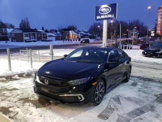 Used 2019 Honda Civic TOURING GPS CUIR TOIT IMPECCABLE for sale in Repentigny, QC