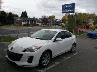 Used 2013 Mazda MAZDA3 GX BAS KILOMÉTRAGE MANUELLE BAS KILOMÉTRAGE for sale in Repentigny, QC