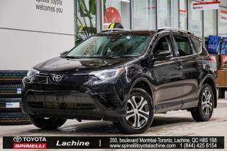 Used 2017 Toyota RAV4 LE AWD SIÈGES CHAUFFANT! BLUETOOTH! AVERTISSEUR SORTIE DE VOIE!BAS KILOMÉTRAGE! SUPER PRIX! FAITES VITE! for sale in Lachine, QC