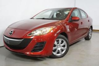 Used 2010 Mazda MAZDA3 GX A/C -MECANIQUE A1- DEMARREUR A DISTANCE for sale in Montréal, QC