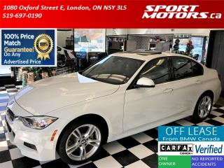 Used 2015 BMW 3 Series 328i xDrive M Sport Line+Xenons+Roof *24,000 KMs* for sale in London, ON