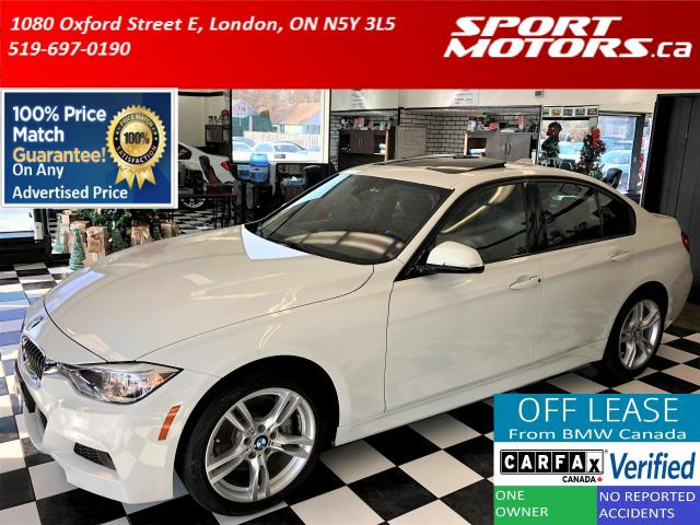 2015 BMW 3 Series 328i xDrive M Sport Line+Xenons+Roof *24,000 KMs*