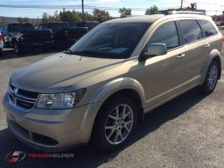 Used 2011 Dodge Journey SXT CREW V6 3.6 LITRES 7 PASSAGERS SIEGES CHAUFFAN for sale in St-Lazare, QC