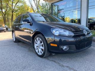 Used 2013 Volkswagen Golf Wagon WAGON TDI DSG HIGHLINE CUIR TOIT PANORAMIQUE for sale in St-Lazare, QC