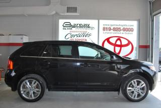 Used 2013 Ford Edge AWD LIMITED, CUIR, TOIT PANORAMIQUE for sale in Val-D'or, QC