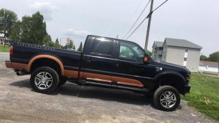Used 2008 Ford F-250 4WD CREW CAB for sale in St-Thomas, QC