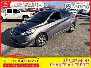 Used 2016 Hyundai Accent SE for sale in St-Hyacinthe, QC