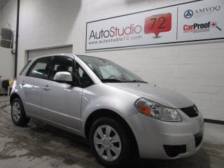 Used 2012 Suzuki SX4 Hayon manuelle JA traction avant **A/C** for sale in Mirabel, QC