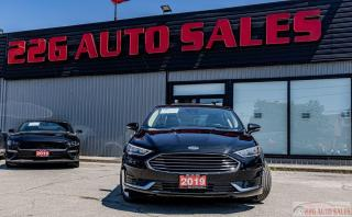 Used 2019 Ford Fusion Hybrid SEL|ACCIDENT FREE|HYBRID|LEATHER|BACKUP CAM|SUNROO for sale in Brampton, ON